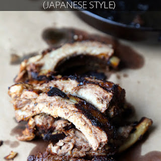 Baby Back Ribs (Japanese Style)