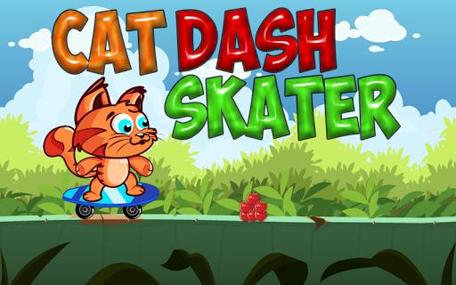 Cat Dash Skater