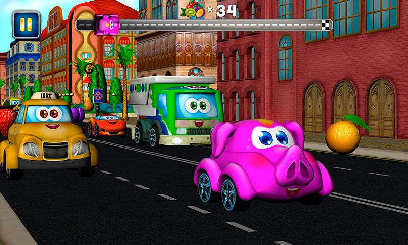 kids racing games screenshot