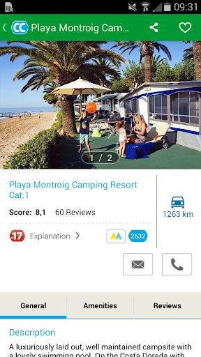 CampingCard ACSI Campsites 2018.6.2 screenshots 5