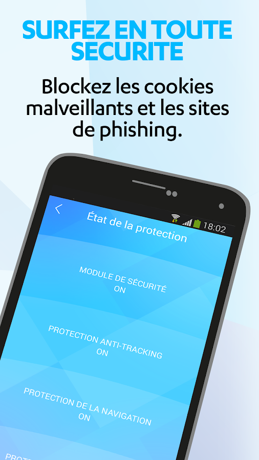 F-Secure Freedome VPN – Capture d'écran