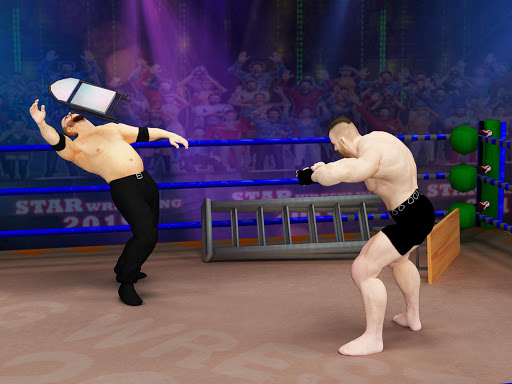 Tag team wrestling 2020: Cage death fighting Stars screenshots 23