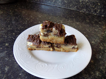Chocolate Peanut Butter Banana Gooey Bars Recipe