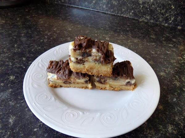 Chocolate Peanut Butter Banana Gooey Bars Recipe