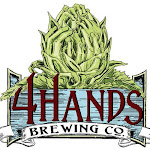 Logo of 4 Hands Liquid Wet Hop Centennial Red