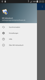 MD Adressbuch for Android™- screenshot thumbnail