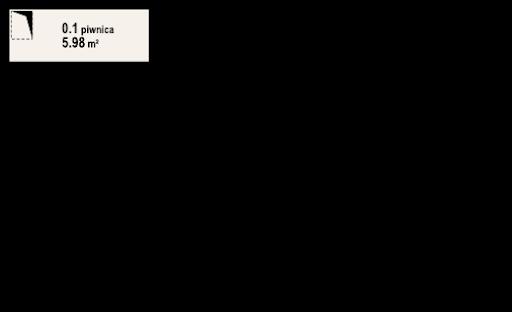 Świdowo dws - Rzut piwnicy