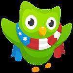Learn English with Duolingo Icon