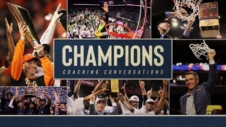 Watch Champions: Coaching Conversations live