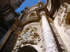 Photo: 10.03.09 Schnuppertour Valencia: Seitenportal der Kathedrale (Urheberrecht M. Dorn)