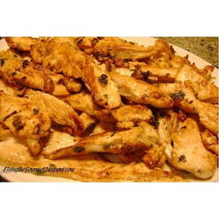 Lemon & Garlic Marinated Chicken Breast.