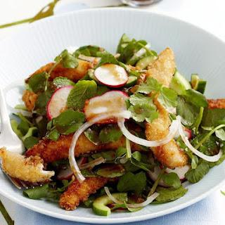 Crispy Chicken Salad.