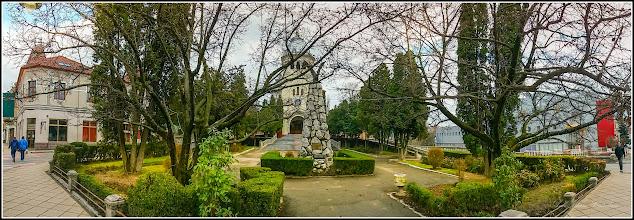 Photo: Piata 1 Decembrie 1918 - Spatoi verde din fata Catedralei Ortodoxe - 2017.03.20