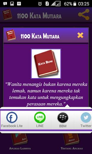 1100 Kata Mutiara 1.7.8 screenshots 8