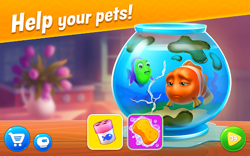 Fishdom Mod Apk 5.13.0 [Unlimited Money And Gems] 1
