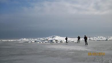 Photo: 003 Kruiend ijs op de Baltische Zee