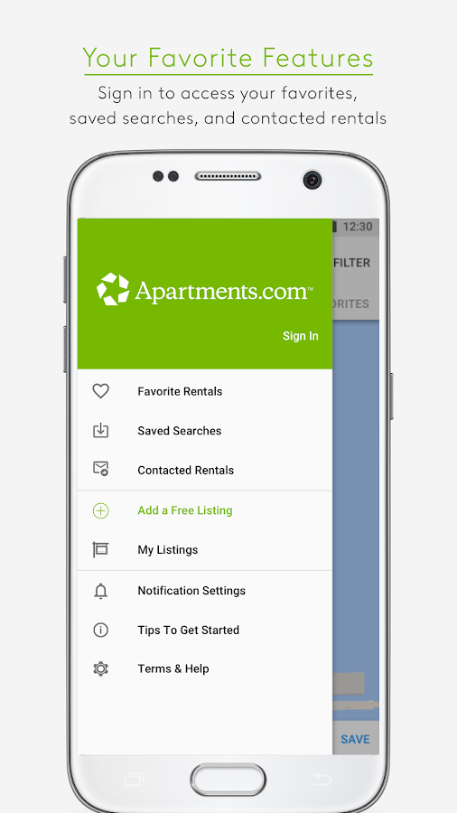 Apartments.com Rental Search- screenshot