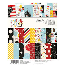 Simple Stories Double-Sided Paper Pad 6X8 24/Pkg - Say Cheese 4 UTGÅENDE