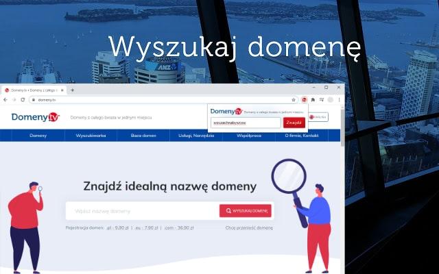 Domeny.tv - wyszukiwarka