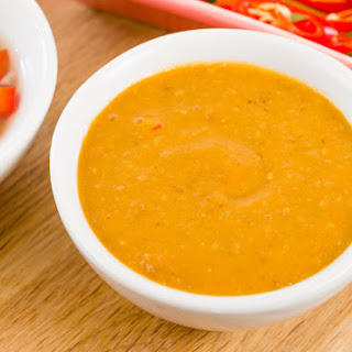 Spicy Peanut Sauce.