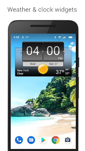 3D Flip Clock & Weather 5.77.0.2 screenshots 9