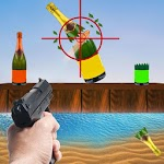 Impossible Bottle Shooting Game 2019 icon