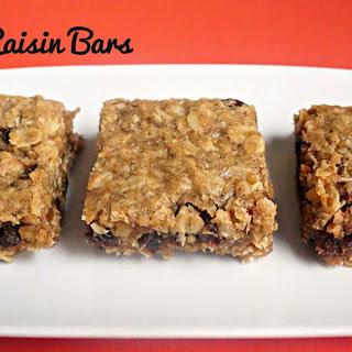 Oatmeal Raisin Bars Recipe
