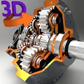 3D Engineering Animation icon