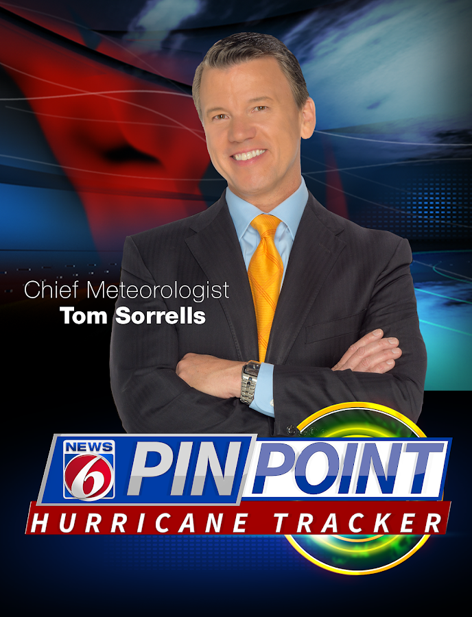 News 6 Hurricane Tracker- screenshot