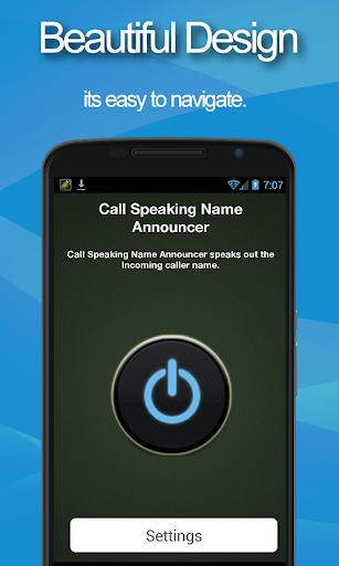 Call Speak Name Announcer