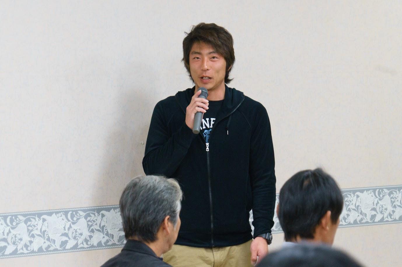 新研修生・金田知樹さん