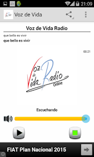 Voz de Vida Radio- screenshot thumbnail