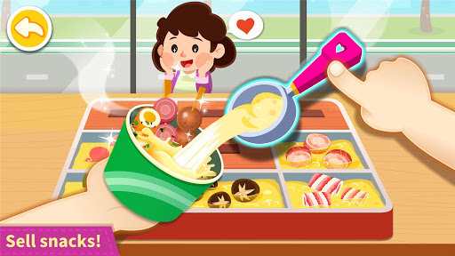 Baby Panda's Town: Supermarket screenshot 2