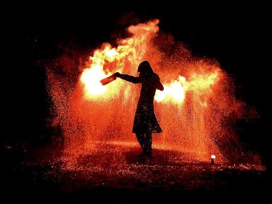 pioggia di fuoco di mousix