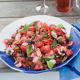 Thai-Style Radish and Watermelon Salad Recipe