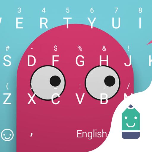 Pink Minions Theme Keyboard