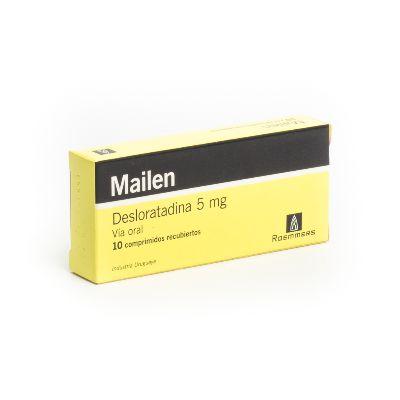 Desloratadina Mailen 5 Mg X 10 Comprimidos Roemmers