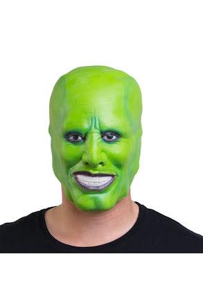 Mask, grön