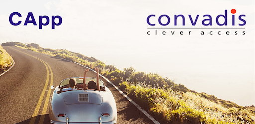 Convadis CApp is the Bluetooth Low Energy ™ app for CBox Modulo