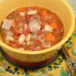 Tuscan Pork and Bean Soup