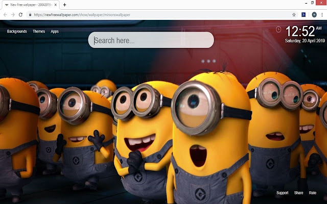 Minions Hd Wallpaper New Tab We have 66+ amazing background pictures carefully picked by our community. minions hd wallpaper new tab