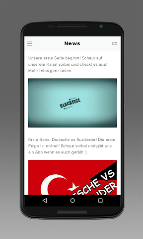 android Blackfice Screenshot 1