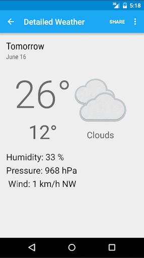 Download Sunshine Weather App Google Play softwares - aYr0IQrYQGAB