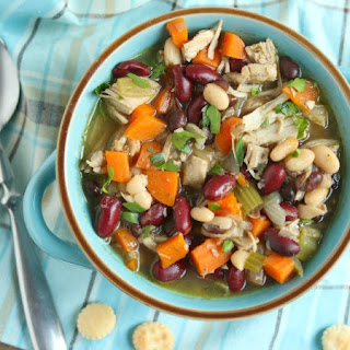 Leftover Turkey and Bean Soup