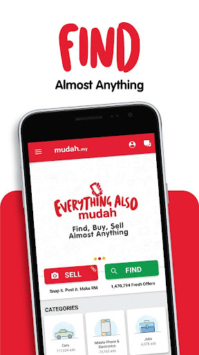 Mudah.my - Find, Buy, Sell Preloved Items 8.9.8 screenshots 1
