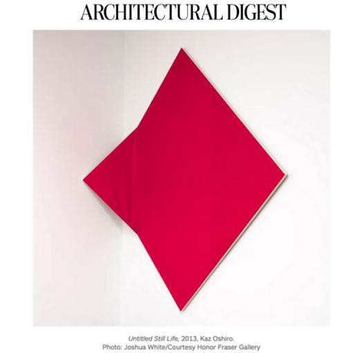 Architectural Digest, Kaz Oshiro