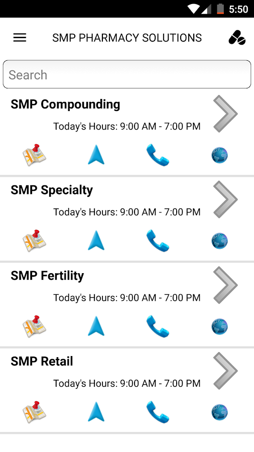 SMP Pharmacy Solutions- screenshot