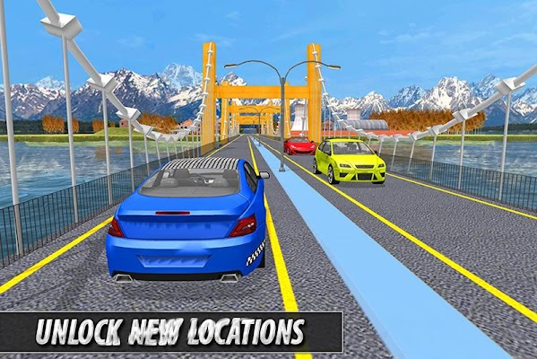 Taxi Simulator 2016: Euro - screenshot