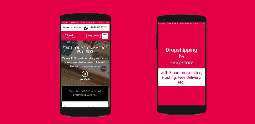 Dropshipping by Baapstore 1 0 Apk Download - com ks baapstore APK free