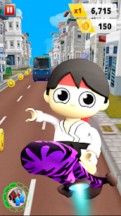 Subway Ryans City Run - Subway Boy Runner Screenshot